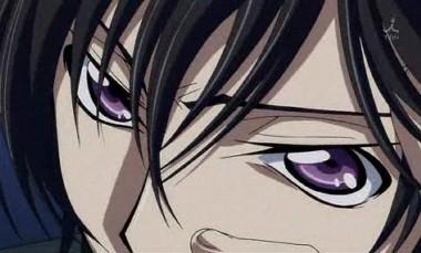 ルルーシュ 睨み・目