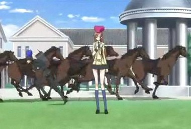逃げ出した馬