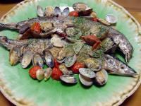 秋刀魚のアクアパッツア