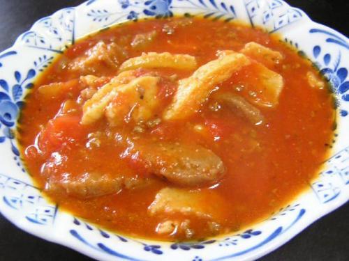 ニョッキ風スープ(参考出品(^_^;))