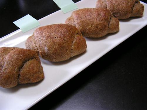 ふすまロールパン