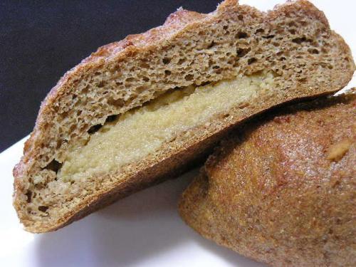 ふすまクリームパン