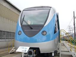 ドバイで走る予定の電車