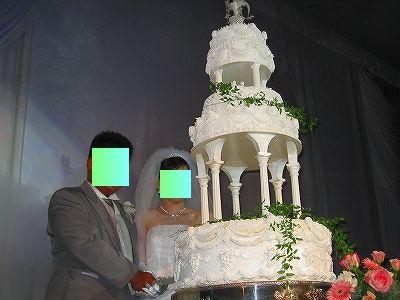 ケーキ入刀H20.10.19