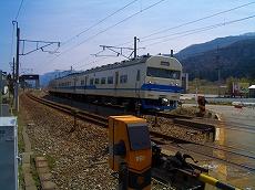 宮崎駅横の第7北陸道踏切