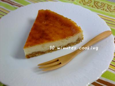フロマージュブランDE簡単チーズケーキ♪
