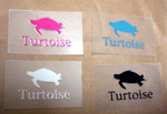 turtoiseステッカー