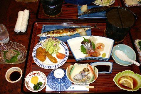 ホテル五味の大黒さんまと牡蠣プラン