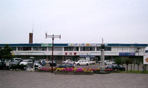 滝川駅外観