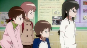 今日の5の2(TVA) 田中ハルカ登場カット