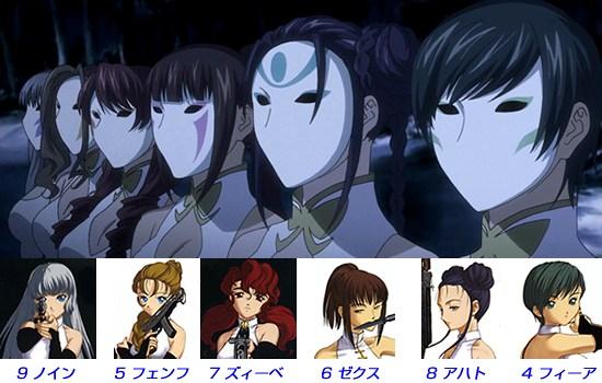 Phantom~Requiem for the Phantom~ 第25話 「決着」 ツァーレンシュヴェスタン