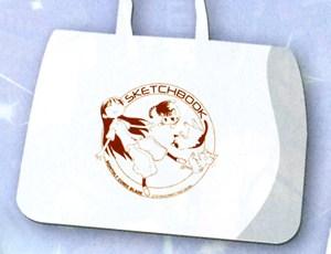 コミックマーケット76 コミックブレイド企業ブース スケッチブック トートバッグ