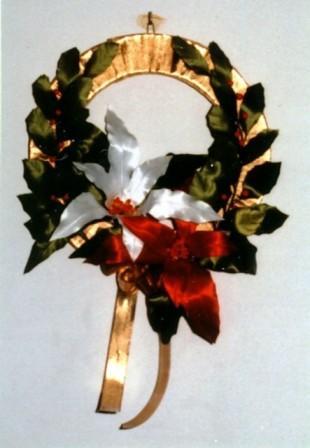 071218-リボンフラワーのクリスマスリース