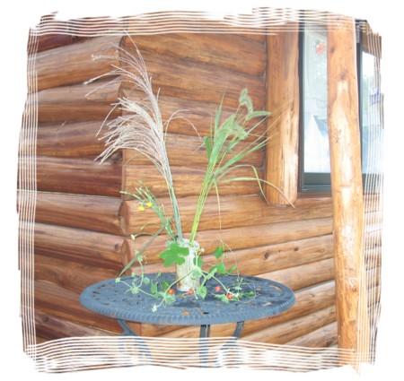 【歪花瓶】タタラ作りの花瓶 1作目