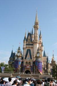 ディズニー お城