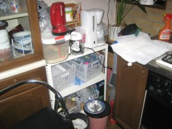 キッチン棚 ビフォー