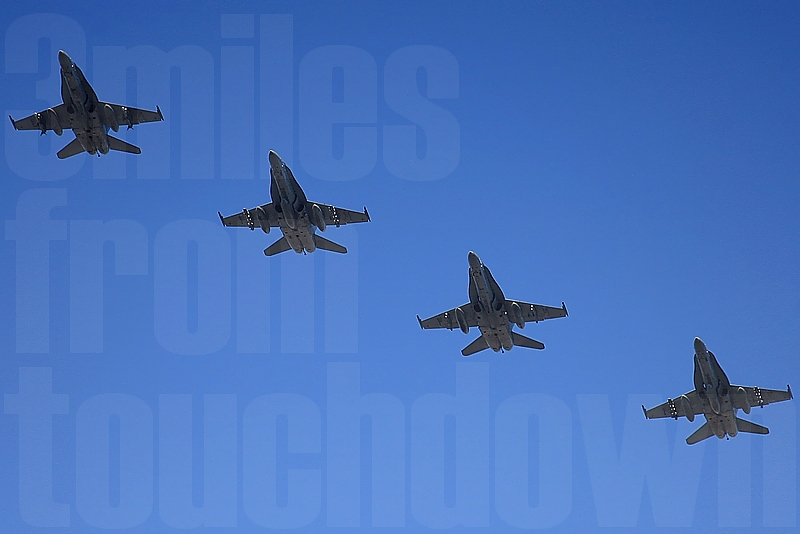 待望の空母ジョージ・ワシントン(GW) CVW-5 F-18ホーネットが厚木基地に!フライイン(Fly-In)