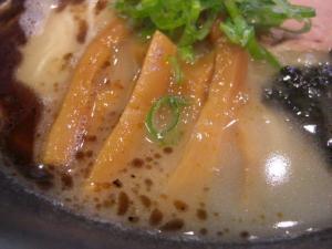 08091412たつみ喜心・鶏白醤油らーめん スープアップ