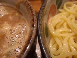 08092113椿・つけ麺 スープ&麺アップ
