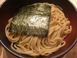 08092117ゼットン・つけそば小盛(200㌘) 750円 麺