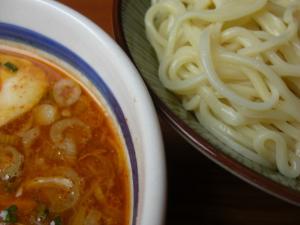 08092212常勝軒・限定 落陽めん 麺スープアップ