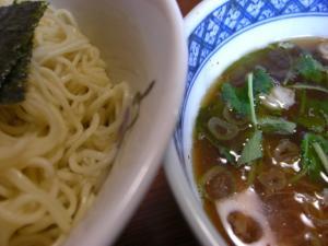 08092812みどり・秋刀魚つけめん スープ&麺アップ
