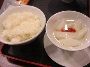 08111119火山・セットのライスor杏仁豆腐