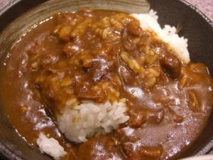 09010411くわ田・セット ミニカレー丼