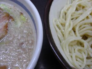 09011111本庄大勝軒・とんづけ塩 麺&つけ汁アップ