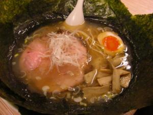 09010618燵家製麺・塩らーめん 650円 海苔 100円