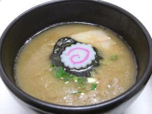 09013114満帆太田・豚骨つけめん スープ