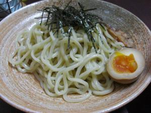 09013121青山・つけ麺コッテリ 麺並盛 680円