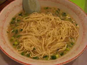 09021821だるま大使・だるまコッテリ スープ in 替え玉