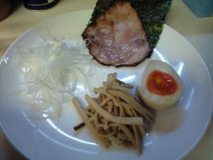 09032120燵家製麺・釜揚げつけ麺 別皿トッピング