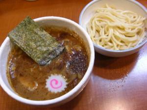 09040416Ones mall ラーメン劇場 山勝軒・ミニつけ麺 400円