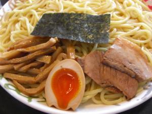 09021513群馬大勝軒・つけ麺 基本トッピ