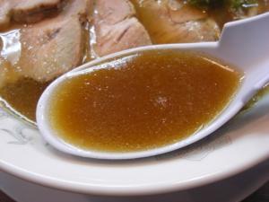 08123013やまと・中華そば肉入り(並) スープアップ