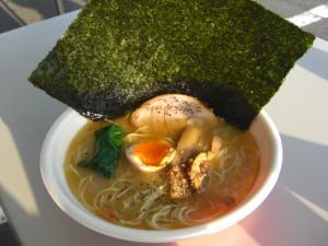 09043017信越麺戦記Part1・ロコ×3 あってり麺(塩) 700円
