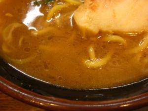 09043020寸八・豚骨醤油らあめん(並) スープアップ