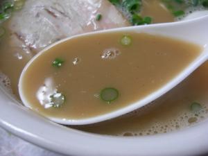 09052721恵次・とんこつらーめん スープアップ