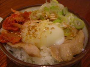 09051219満帆・まかない飯(トントロチャーシュー丼) 250円