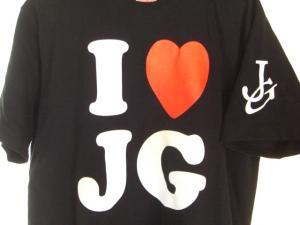 09061114Ⅰ LOVE JG・Tシャツ