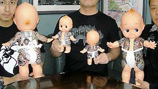 超童顔のフンドシ全身和彫り兄貴です