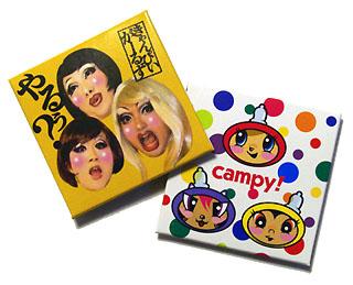 ついにコンドームになったCampy!ガールズ&キャラ