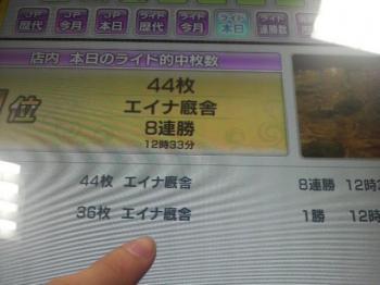 エイナー(8連勝)