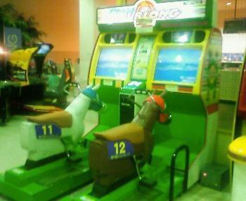 昨日の競馬ゲーム機械