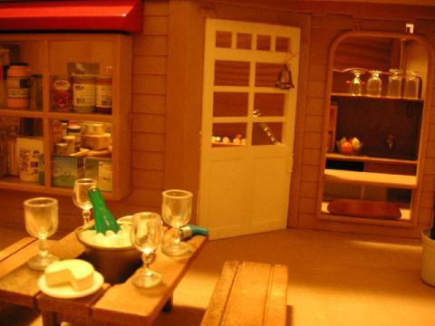 食品屋 入口