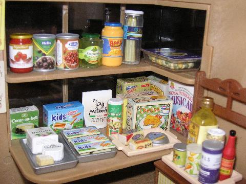 食品屋 商品棚