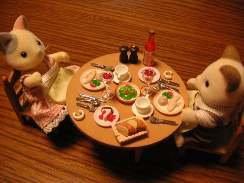 手づくりテーブルディナー