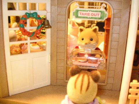 クリスマス パン屋